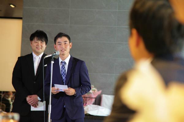 【これで安心☆】友人スピーチのマナー