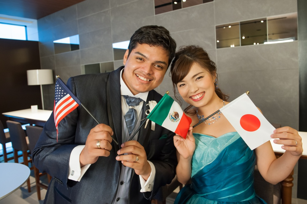 ブログ 国際 結婚